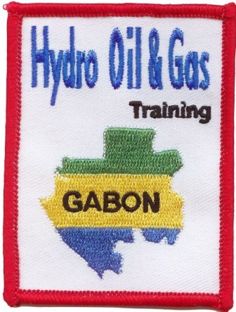 Ecusson grande_enreprise : ecusson_hydro_oil_et_gas_training_gabon