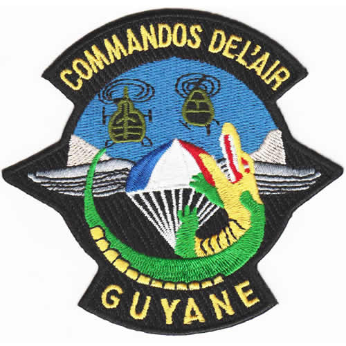 Ecusson : ecusson_commando_de_l_air_Guyane