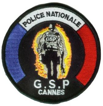 Ecusson police : ecusson_police_nationale_GSP_cannes