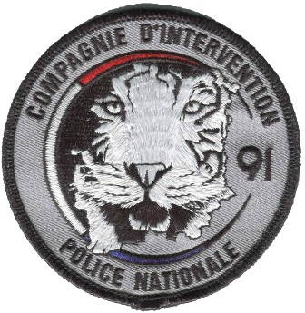 Ecusson police : ecusson_police_nationale_compagnie_intervention_91