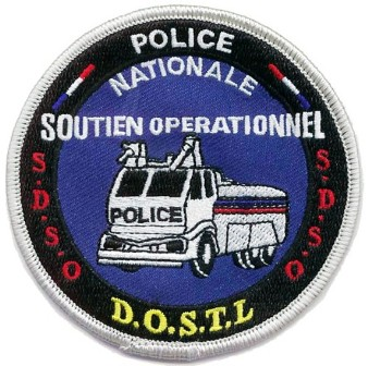 Ecusson police : ecusson_police_nationale_soutien_operationnel_DOSTL